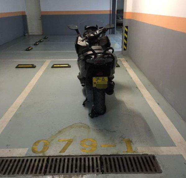 摩托车沪A牌