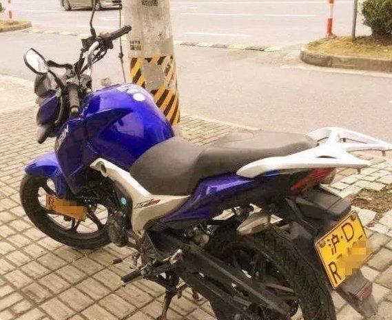 摩托车沪D牌照
