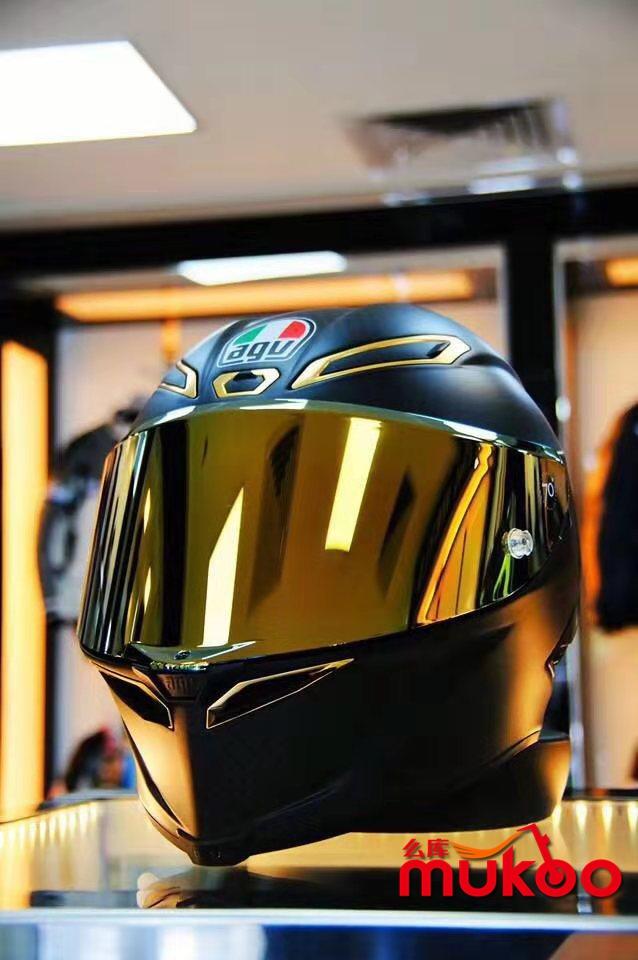 AGV摩托车头盔盔王