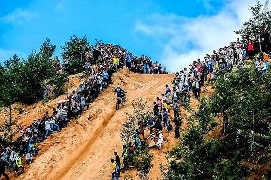 大黑山摩托车矿山耐力赛